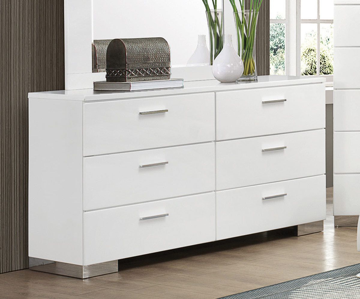 Jeslyn White Collection dresser