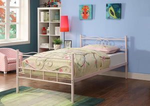 Carole Metal Bed- Multicolor