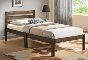 Cloe Ash Brown Twin Bed