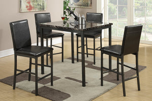 Debora Counter Height 5PC Dining Set
