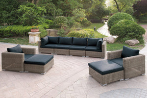 Doris Outdoor 4PC Living-Room Set