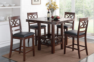 Eden Counter Height 5PC Dining Set