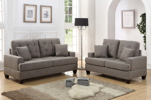 Alexandra Coffee Sofa and Loveseat Set