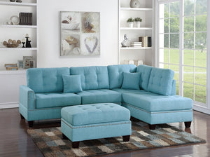 Aurora Blue Sectional
