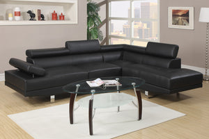 Leo Black Sectional
