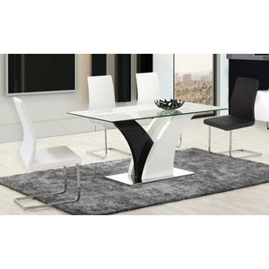 Peachy Briana 5Pc Dining Set Caraccident5 Cool Chair Designs And Ideas Caraccident5Info