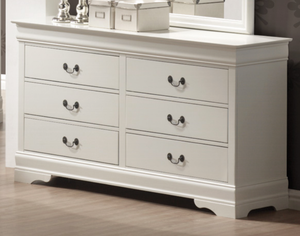 Abbey in White Dresser