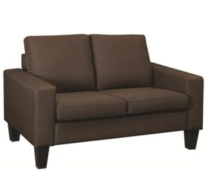 Cali Brown Loveseat
