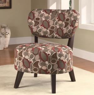 Cali Brown Accent Chair