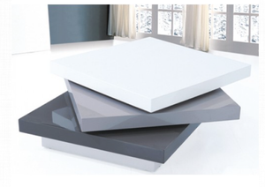 Canada White & Grey Coffee Table