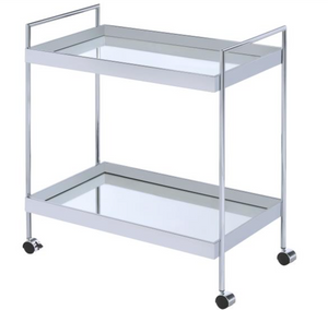 Clini Bar Cart angled view