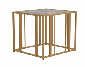 Army Gold End Table