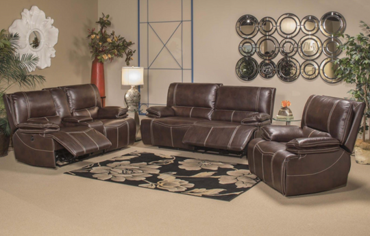 Beverly Brown 3PC Living Room Set
