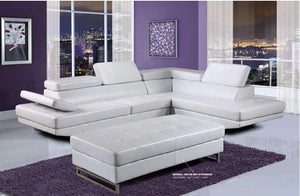 Abram White Sectional