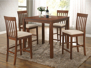 Abel Counter Height 5PC Dining Set