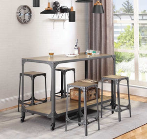 Alumin 5PC Kitchen Island