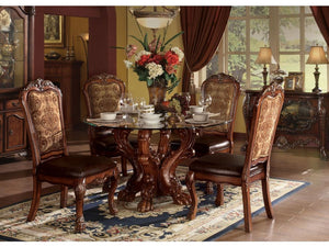 Alvis Round 5PC Dining Set