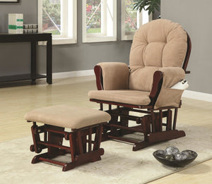 Angela Recliner Chair & Ottoman Set