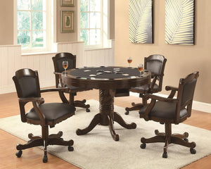 Atena 5PC Game Table Set