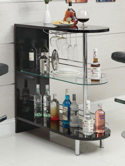 Compact Bar Table -Available in White also!
