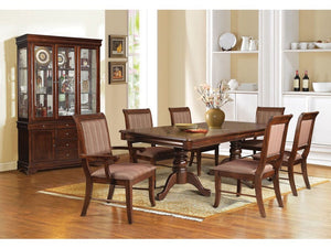 Belinda Espresso 5PC Dining Set