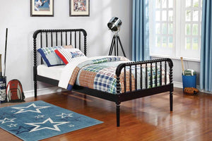 Brylle Twin Black Bed