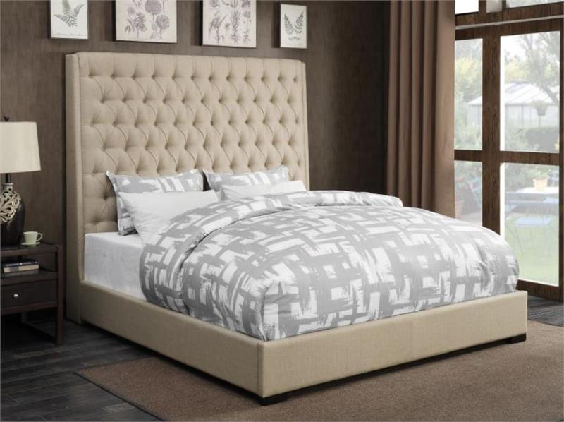 Caly Cream Bed