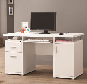 Capri White Desk
