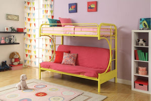 Carton Yellow Twin/Full Bunkbed