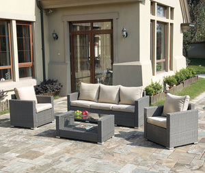 Cecilia Outdoor 4PC Living-Room Set