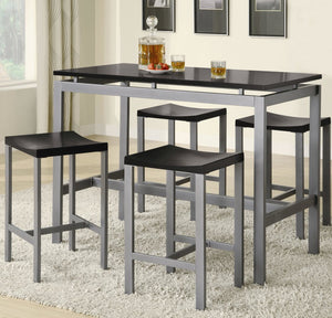 Celina 5PC Counter height Dining Set