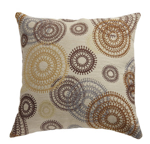 Circle Swirls Pack pf 2 accent Pillow