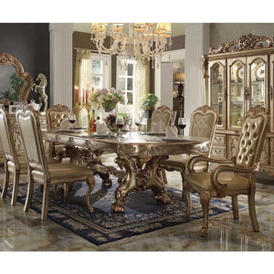Classic Gold Platina 5PC Dining Set