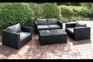 Cloe Outdoor 4PC Living-Room Set