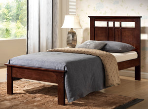 Dora Cappuccino Twin Bed