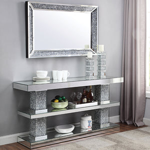 Dora Mirrored Console Table