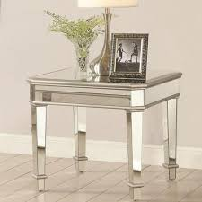 Flurio End Table with decorations