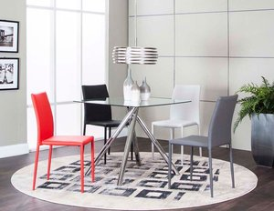 Luna Modern 5PC Dining Set