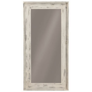 Distressed Black, White or Brown Mirror