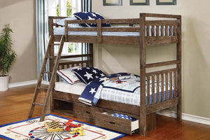 Dexter Twin/Twin Bunk-Bed