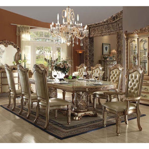 Eliana Gold Patina 5PC Dining Set