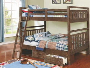 Copy of  Dexter Full/Full Bunk-Bed