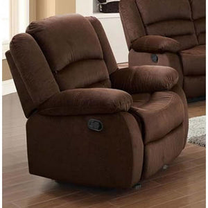 Amelia Light Brown Recliner Chair