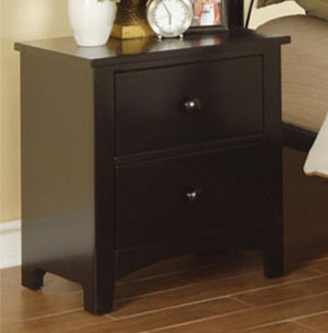 Cloud Black Night Stand