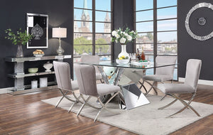 Dora Mirrored Dining Collection