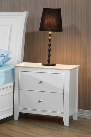 Abigail White Night Stand