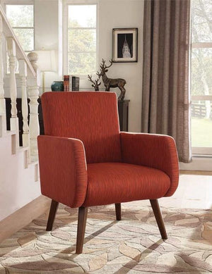 Ali Orange Accent Chair
