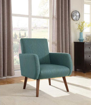Ali Walnut Accent Chair