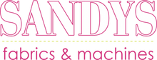 Sandy's Fabrics & Machines Logo