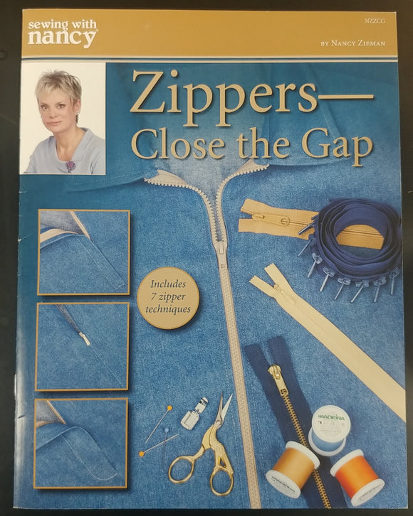 Sewing with Nancy = Zippers Close the gap